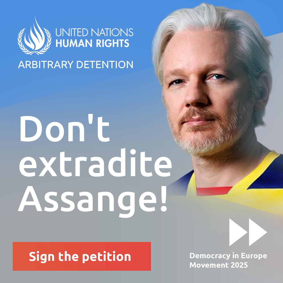 Don't extradite Assange! (petition)